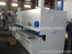 cnc hydraulic guillotine shearing machine