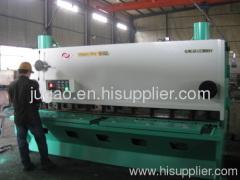 metal plate shearing machine