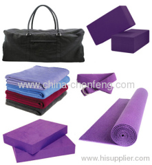 Complete Classic Yoga Kit with 180cm Purple Yoga Mats china suppliers manufacturers