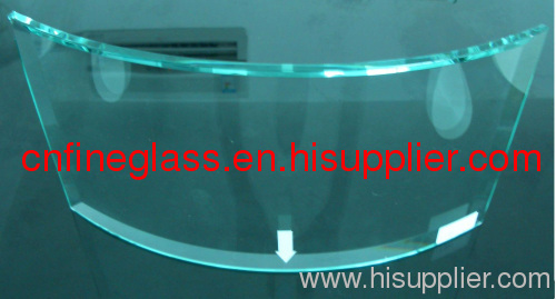 2mm~25mm curved glass