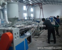 PEX hot water pipe production line