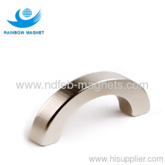 Sintered NdFeB Arc magnet.Super strong permanent magnet