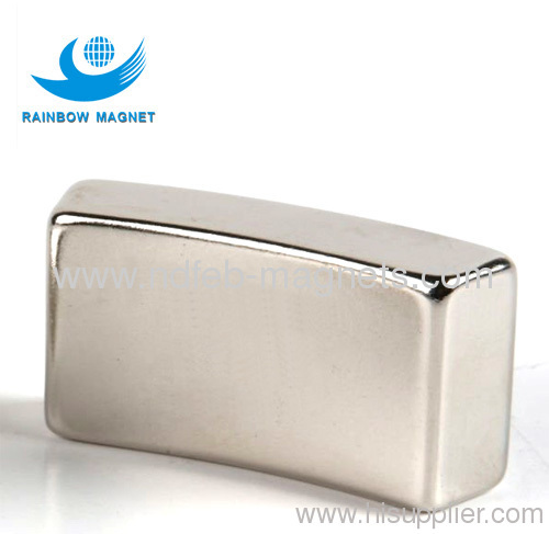 Sintered NdFeB segment magnet.Super strong permanent magnet