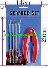 seafood SET seafood tongs forks