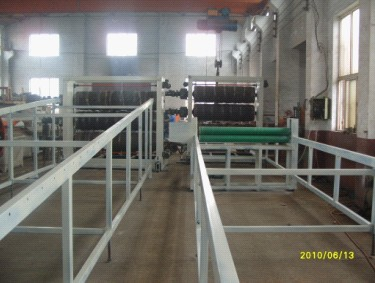PVC soft sheet extrusion line