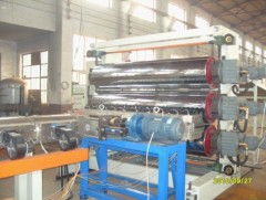 PVC soft sheet production line