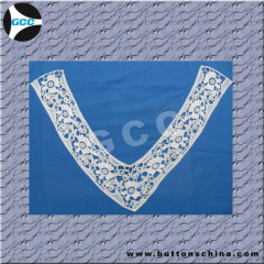 RAYON COLLAR LACE WITH COLTHES