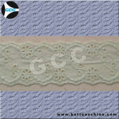 COTTON EMBROIDERY LACE WITH SHIRT