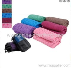 anti-slip Skidproof Fibre Micelle Yoga Towel Mats china suppliers manufacturers