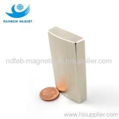 permanent magnet Arc. Neodymium segment magnet