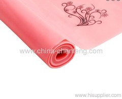 Latex flat pilate exericise resistance bands china suppliers