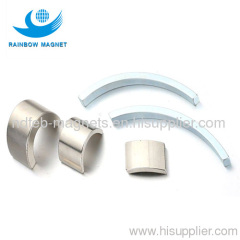 permanent magnet Arc. Neodymium segment magnets