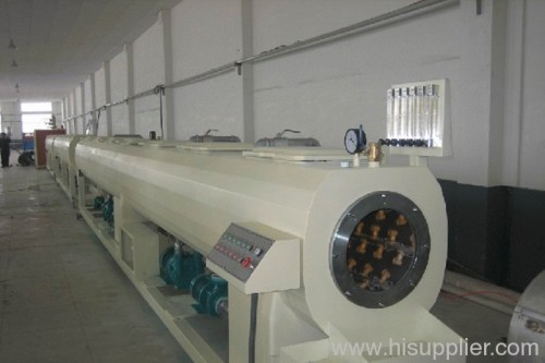 PB pipe extrusion line