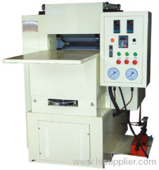wood plastic profile embossing machine