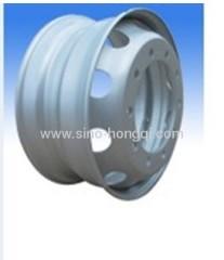 Truck tubeless steel wheel rim 8.25*22.5 for 11R22.5 Truck Tyre