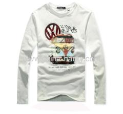 fashion cotton Ladies Long Sleeve T Shirts