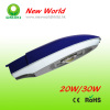 20w/30w Bridgelux chip meanwell led street lamp,led road light with CE&RoHS
