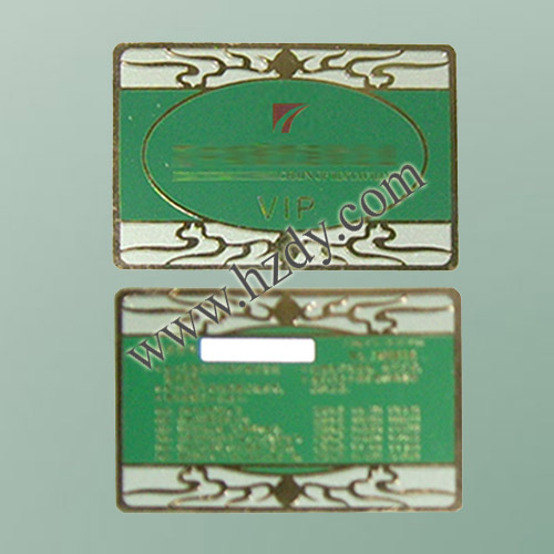 Hair Salon Club Membership Card