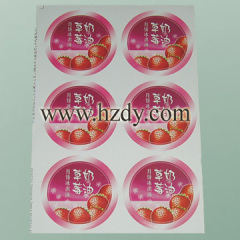 Printed Adhesive Paper Stickers