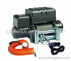 Electric 4x4 recovery winch
