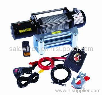 synthetic rope winch