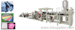 PE sheet making machine