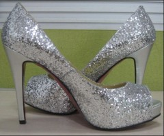 Silver Dress on Women Silver Dress Shoes Hcy02 618 Manufacturer From China Hoson