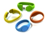 Wholesale - 1GB 2GB 4GB 8GB 16GB 32GB GY-1202 Free Shipping Plastic Wristband USB Flash Drive,Hotsale Flash Memory Stick