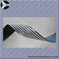 Stripe Yarn-dye Organza ribbon