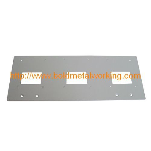 Steel Sheet Barrier Plates Fabrication