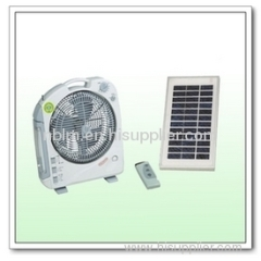 mini rechargeable solar fan