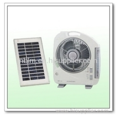 solar powered portable fans