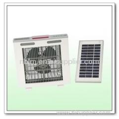 12V solar fan
