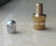 "international standard 1/4"" valve stem brass valve"