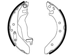 HONDA CONCERTO brake shoes GBS 90836