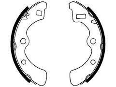 HONDA QUINTET rear brake shoes