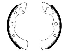 HONDA ACTY rear brake shoes