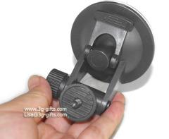 Vacuum suction mount for mini camera