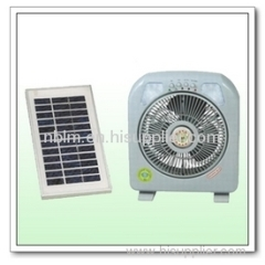 emergency solar rechargeable fans
