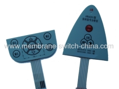 12.2mm Four Legged Domes Membrane Switch