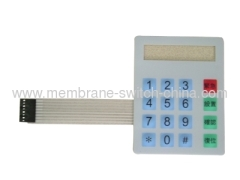 Metal dome membrane key switch made in china