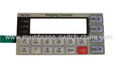 LED embedded membrane switch