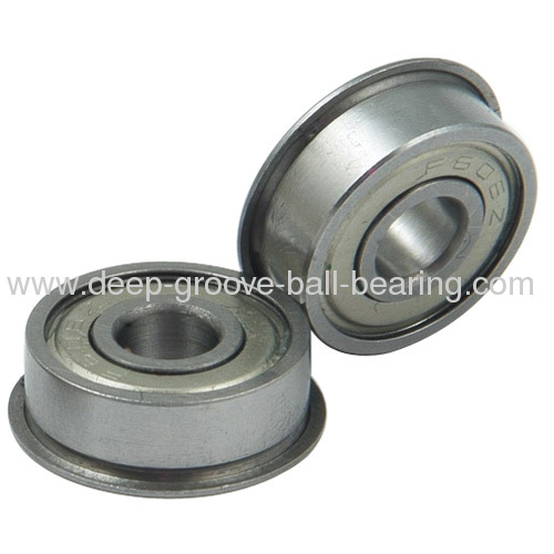 High Performance Flanged Ball Bearing