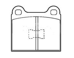 AUDI 50 front brake pad sets