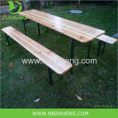 Wooden Green Beer Folding Table