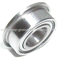 Sealed Flanged Miniature Ball Bearing