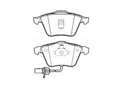brake pads AUDI A6 Avant