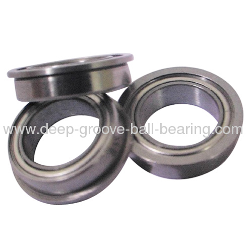 Chrome steel miniature flanged ball bearings products from