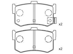 HYUNDAI SONATA brake shoes