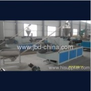 The announcements through producing of plastic extruder